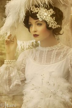 A vintage 1920s shoot - by Itani