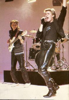 Simon & John...love how john was always smiling!!!