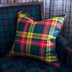 Buchanan Tartan Pillow - from SMW Home.                                                                                                                                                      More