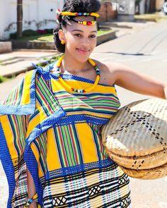 Shweshwe Dresses, African Maxi Dresses, Latest African Fashion Dresses, African Print Fashion, Africa Fashion, African Attire, African Wear, African Prints, African Style