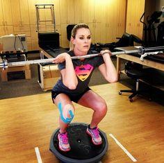 Lindsey Vonn. Determination. Motivation!