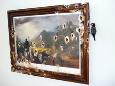 Valerie Hegarty's Paintings Extend Beyond Frame