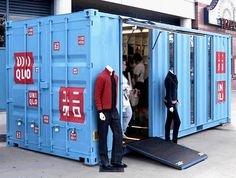 Container SA: Loja Container: Conceito que Chegou para Ficar