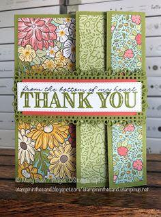 Stampin' in the Sand: Card: Ornate Garden Fancy-Fold Card
