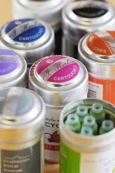 J Herbin ink cartridges (pk 6) from Bureau Direct
