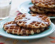 Printing Recipe - Cinnamon Roll Waffles | Rhodes Bake-N-Serv