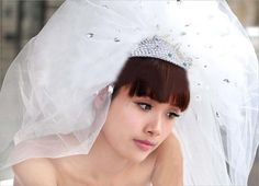 #Bride dress 2.8m church #wedding #accessories bridal crystal veil multy-layer,  View more on the LINK: http://www.zeppy.io/product/gb/2/231898073624/