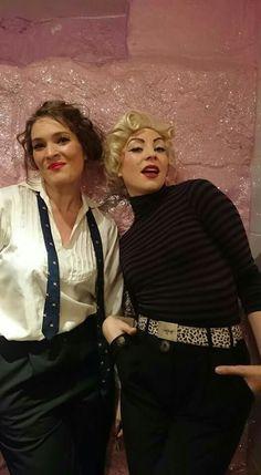 Marilyn & Marlene at Bonden Bar, Stockholm. Aurora Brännström and Johanna Fossum. Photo: Ludvig Lundgren.