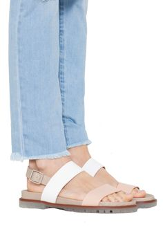 Sandalias planas rosa Marisa - Sandalias - Calzado