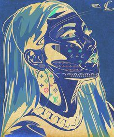 GZB @chaelincl #chaelinCL #CL #GZB #2NE1 #YGfamily #illustration #illustrator #illust #artwork #drawing #art #go61in #일러스트 #그림 #디자인 #드로잉