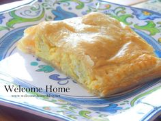 This is one of my all-time favorite recipes at Welcome Home. I have made it for years and it just. Breakfast On The Go, Breakfast Dishes, Breakfast Recipes, Breakfast Ideas, Puff Pastry Pizza, Puff Pastry Recipes, Egg Recipes, Dessert Recipes, Bread Recipes