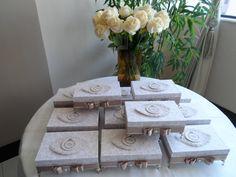 Lembrancinhas para madrinhas de casamento produzidas por Mônica Guedes