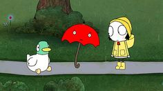 Sarah & Duck: Umbrella