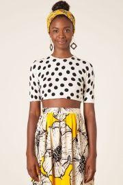 blusa tricot dots