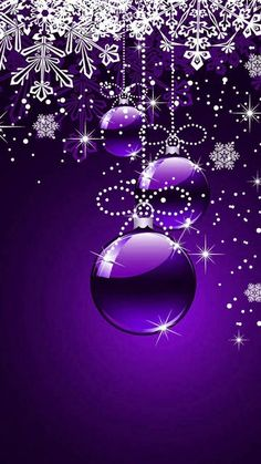 Violet wallpaper by kabewr - 73 - Free on ZEDGE™ Blue Roses Wallpaper, Snowflake Wallpaper, Cute Christmas Wallpaper, Easter Wallpaper, Cute Wallpaper Backgrounds, Christmas Frames, Christmas Pictures, Christmas Art, Christmas Ornament