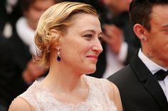 """Valeria Bruni-Tedeschi Photos - Actress Valeria Bruni Tedeschi attends the """"Slack Bay (Ma Loute)"""" premiere during the 69th annual Cannes Film Festival at the Palais des Festivals on May 13, 2016 in Cannes, France. - 'Slack Bay (Ma Loute)' - Red Carpet Arrivals - The 69th Annual Cannes Film Festival"""
