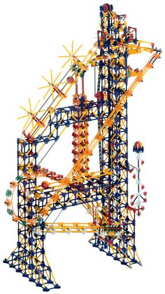 K'NEX Roller Coaster Set | NEX User Group - K'NEX Simple machines deluxe set