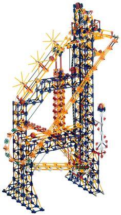 K'NEX Roller Coaster Set   NEX User Group - K'NEX Simple machines deluxe set