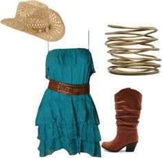 Swap the boot for some Alberta boots and you got yourself an outfit!
