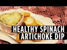 How to Make a Healthy Spinach Artichoke Dip - http://showatchall.com/craft/how-to-make-a-healthy-spinach-artichoke-dip/