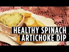 How to Make a Healthy Spinach Artichoke Dip - http://showatchall.com/craft/how-to-make-a-healthy-spinach-artichoke-dip/