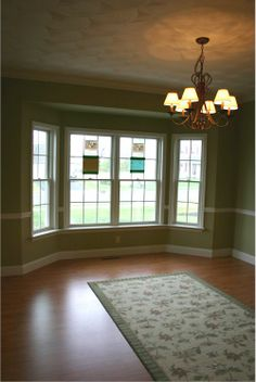 Living Room Colors With Chair Rail   Google Search