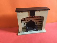 Vintage Dolls House Triang Period Furniture Jacobean Fireplace 1930s | eBay