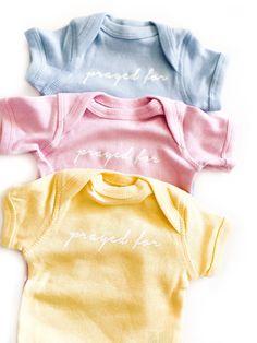 Prayed For Color Bodysuit - SUNSHINE / 6MONTHS