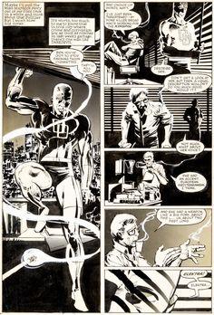 Frank Miller and Klaus Janson Daredevil;#179 Page 5 Marvel, 1982