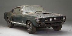 27 Year Barn Find 1967 Shelby GT350