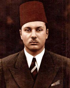 King Farouk..king of Egypt