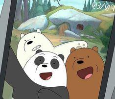 @xoxcactus ||🌵 We Bare Bears, Bear Emoji, We Bear, Polar Bear, Memes, Animals And Pets, Panda, Eye Candy, Pikachu