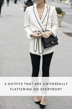 These outfits are wardrobe staples that truly flatter every single body type and shape. Let's go shopping!