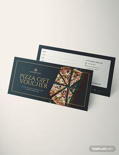 Food Vouchers, Gift Vouchers, Gold And Black Background, Restaurant Vouchers, Gift Voucher Design, Lookbook Design, Certificate Design Template, Ticket Design, Apps