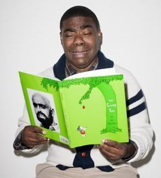 Tracy Morgan weeps over The Giving Tree.