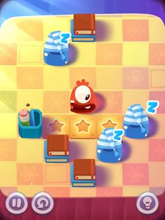 Pudding Monsters HD App by ZeptoLab