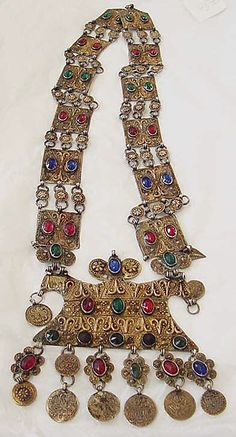 late 19th century turkmen Necklace