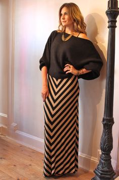 Maxis for Fall, yes!  Layered with sweaters!