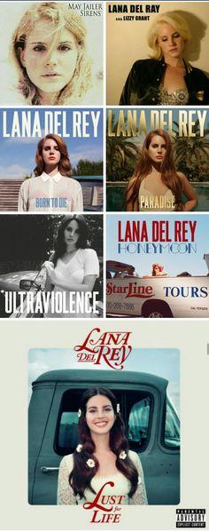 Lana Del Rey discography 2005 - 2017 #LDR