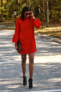 DIY Little Red Dress-Beaute' J'adore