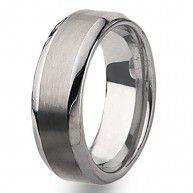 This Chisel Tungsten Carbide Ring comes complete with a Lifetime Warranty. The warranty applies should you ever need a new size only of the same style. A deductible of 30% of original purchase price p...