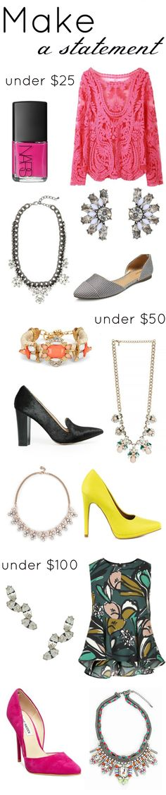 MAKE A STATEMENT FOR SPRING - Daily Dose of Darling