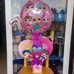 Balloon Centerpieces, Balloon Decorations, Diy Doll School Supplies, Christmas Decorations To Make, Christmas Diy, Lol Doll Cake, Cinderella Birthday, Balloon Gift, Doll Party