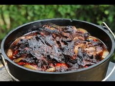 Pulled Beef Burger aus dem Dutch Oven - YouTube