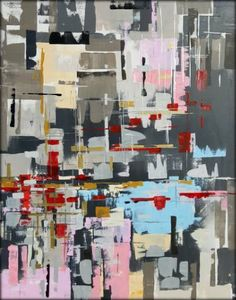 "Saatchi Art Artist Heather W Ernst; Abstract Painting, ""I  Spy"" #art"
