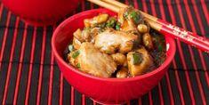 Thai chicken with slow cooker peanut sauce - Recipe .- Thai chicken with slow cooker peanut sauce – Recipes – My Fork Slow Cooked Chicken, Thai Chicken, How To Cook Chicken, Peanut Sauce Recipe, Sauce Recipes, Chicken Recipes, Turkey Dishes, Cooking Wine, My Best Recipe