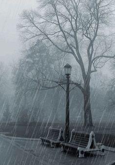 Rainy ~ Rainy Days ~ Raindrops ~ Rain ~ Stormy Days ~ Happy Rain… - #painting #oil #oilpaintin #art