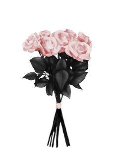 Pink Bouquet av Peytil - Posters för dina väggar från Gallerix®