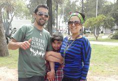 https://flic.kr/p/MXA7Vr | La familia de huellas pampas en la plaza.de San Vicente