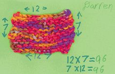 knitting patterns by hand
